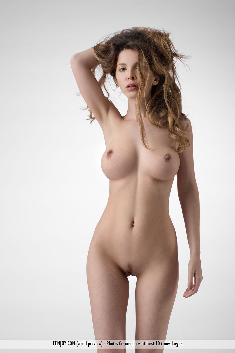 Naked nudist friend