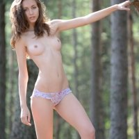 Beautiful nude teen girl Sabrina a natural beauty