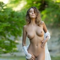 Teen nudes of gorgeous girl Clover with a perfect slim body