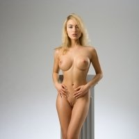 Big perfect perky breasts of Lia May