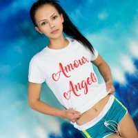 Stunning petite Lada undressing in Amour Angels nudes New Fan