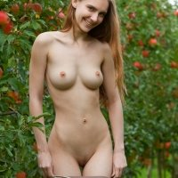 Beautiful German girl nude Mitzie