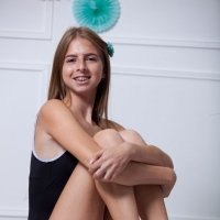 Cute teen with braces nude